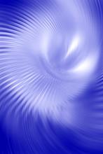 Blue Vortex Abstract
