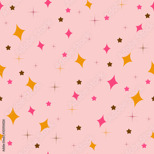 cute-abstract-background-seamless-pattern-vector-asterisks-snowflakes-decor-element-for