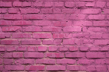 Backdrop From Brick Weathered Pink Wall