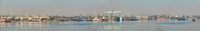Nikolaev, Ukraine - September 30, 2016: Industrial Areas Of The Shipbuilding Yard.