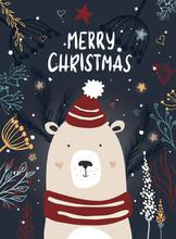 Template Christmas Greeting Ca...