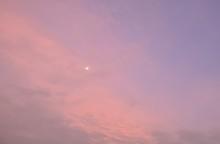 Sunrise In The Red Sky In Morning
