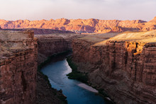 Looking Down The Little Colorado River