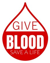 Give Blood Save A Life Design