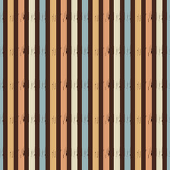 Seamless abstract ikat pattern with multicolored stripes.