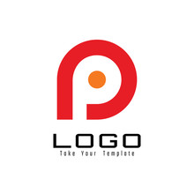 Letter P Logo Design And Templ...