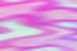 canvas print picture - hologram foil background texture as rainbow, color yellow.