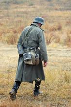 German Wehrmacht Infantry Soldier In World War II