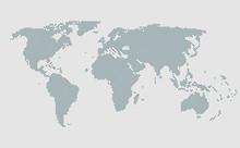 World Map Vector Template, Wor...