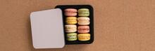 Macarons Selection Of Flavors ...
