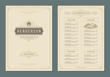 Restaurant Menu Design And Lab...