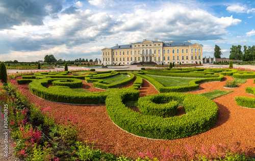 Fototapety, obrazy: Rundale Palace in Latvia