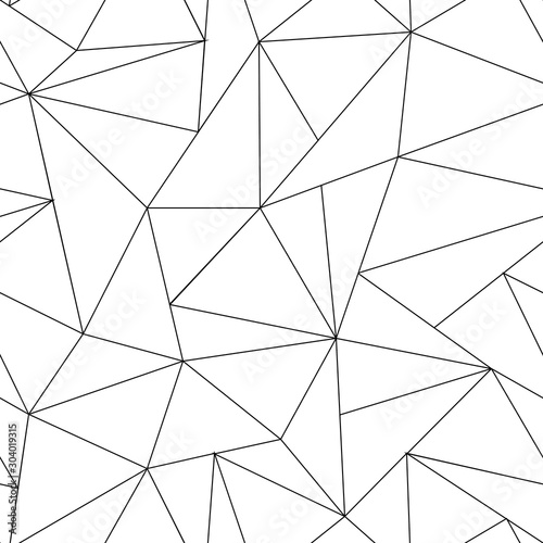 abstract-triangle-seamless-pattern-irregular-polygonal-linear-grid-geometric-background-vector-black-and-white-backgroung