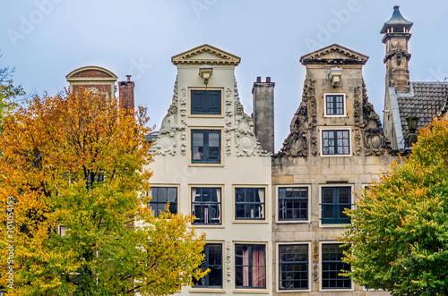 Photo  Historic Amsterdam Architecture