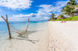 Leinwanddruck Bild - beach on tropical island, Morne Brabant, Mauritius