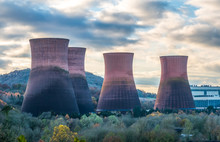 Cooling Towers At Ironbridge O...