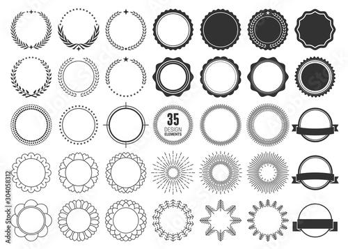 Obraz Element design collection for label and logo. Design elements. Vector illustration - fototapety do salonu