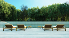 Forrest Pool Villa Resort / 3D...