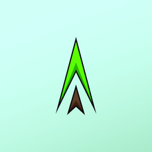 Futuristic Christmas Tree Logo...