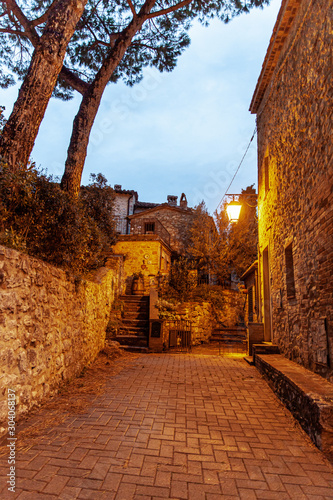 Uscan Medieval Village Rocca d'Orcia  Tuscvany Italy