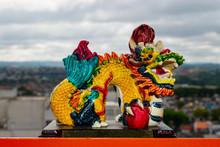 Multicolored Solid Dragon Chin...
