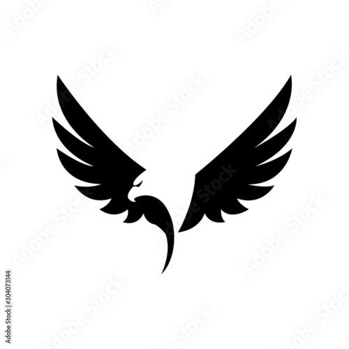 Fototapeta  Eagle icon vector - illustration