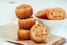 Vanilla Cupcakes With Fruit Pu...