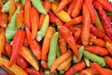 Three Color Red Peppers, Highl...