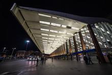 Night View At Termini Railways...