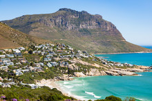 Llandudno Beach And Seaside Town Of Cape Town
