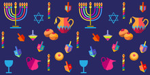 Jewish Holiday Hanukkah Greeti...