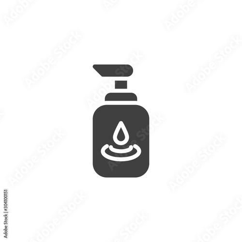 Cuadros en Lienzo  Lubricating gel vector icon