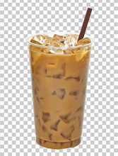 Iced Coffee Or Caffe Latte In ...