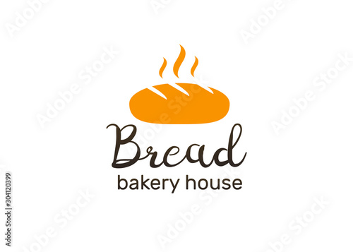 Bakery and pastries vector labels, badges and logo Tapéta, Fotótapéta