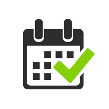 Save The Date, Vector Calendar Icon