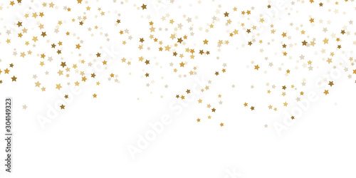 seamless confetti stars background for christmas time