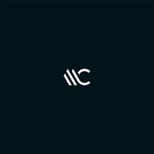 MC CM Initial Logo Design Vector