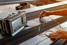 Checking Defect In Welded Of S...