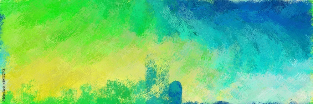 abstract seamless pattern brush painted texture with medium sea green, light sea green and dark khaki color. can be used as wallpaper, texture or fabric fashion printing