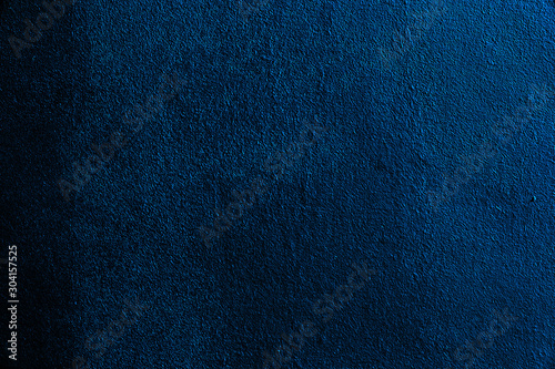 Obraz Abstract textured background in dark blue - fototapety do salonu