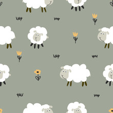 Little Lamb / Sheep Pattern - ...