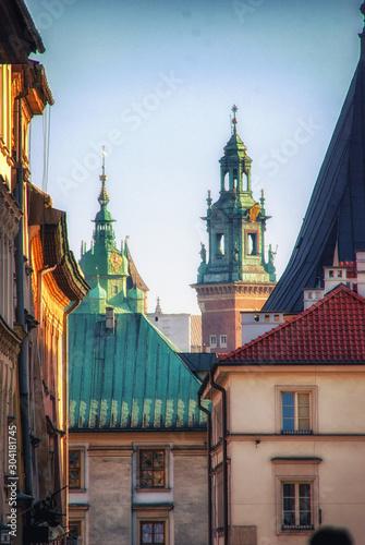 Fotografija  Sigismund`s Chapel at Wawel castle in Krakow (Poland)