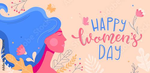 Fotografía Card for International Women's Day