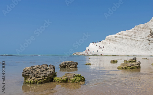 Photo Scala dei Turchi near Agrigento; Sicily; Italy