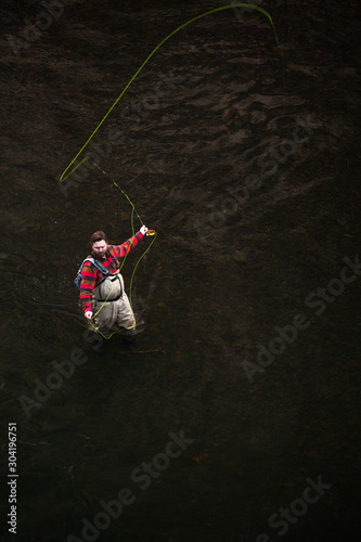 Winter flyfishing in rugged northeastern Oregon.