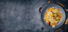 Biryani Rice (Vegetable Biryan...