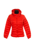 Quilted Jacket On A White Background