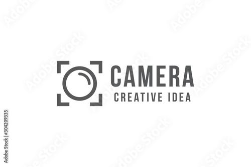 Fotografía  Creative Camera Logo and Icon Template