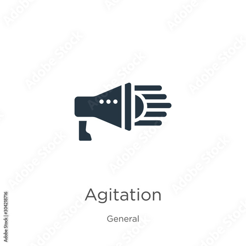 Photo Agitation icon vector