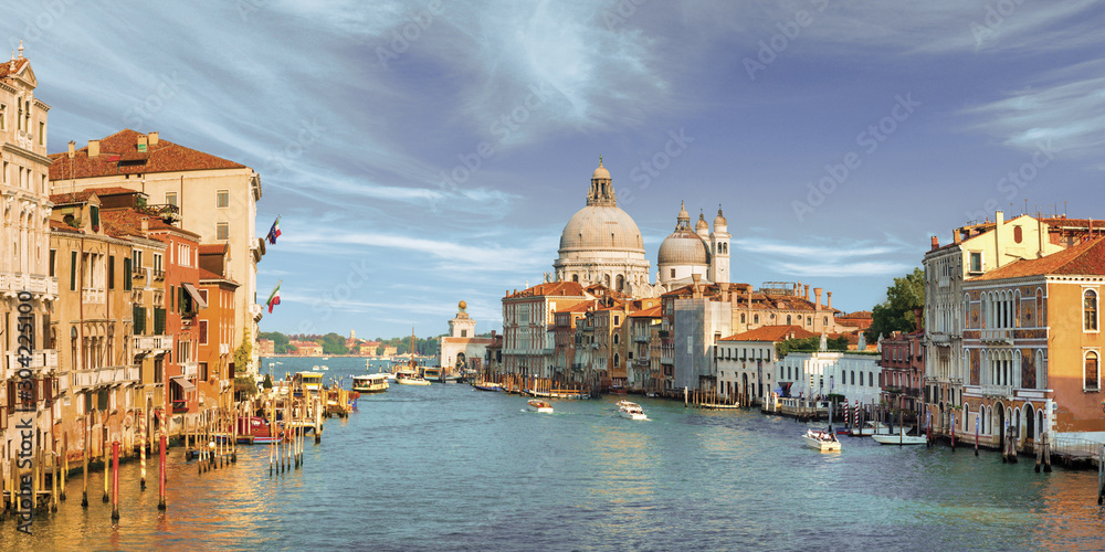 Fototapety, obrazy: view of the city of venice italy